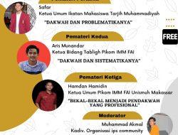 Islamic Public Speaking Community Gelar Pelatihan Dakwah via Daring